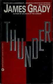 Cover of: Thunder | Grady, James