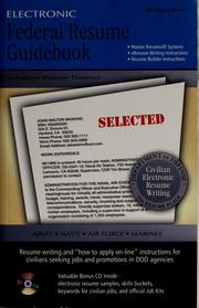 Cover of: The Electronic federal resume guidebook & CD-ROM