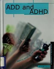 Cover of: ADD and ADHD