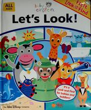 Cover of: Baby Einstein : Let's Look