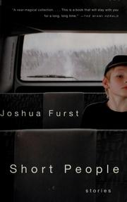 Cover of: Short people | Joshua Furst