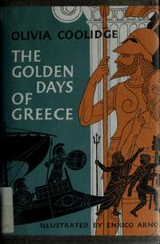 Cover of: Golden days of greece