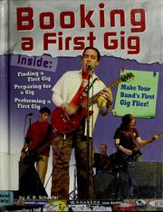 Cover of: Booking a first gig