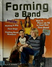 Cover of: Forming a band