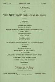Cover of: Papers on botany