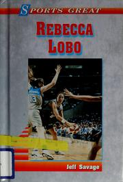 Cover of: Sports great Rebecca Lobo | Jeff Savage