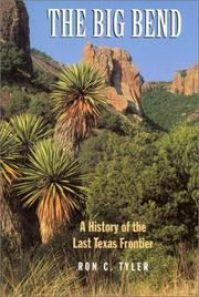 Cover of: The Big Bend