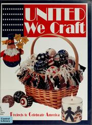 Cover of: United we craft