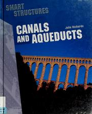 Cover of: Canals and aqueducts