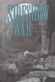 Cover of: Sideshow war