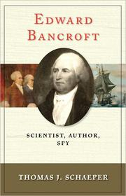 Cover of: Edward Bancroft