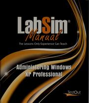 Cover of: LabSim manual | TestOut corporation