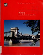 Cover of: Hungary | World Bank