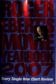 Cover of: Roger Ebert's movie yearbook 2007