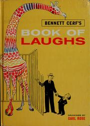 Cover of: Bennett Cerf's book of laughs