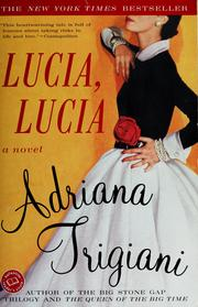 Cover of: Lucia, Lucia