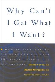 Cover of: Why can't I get what I want?