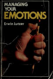 Cover of: Managing your emotions