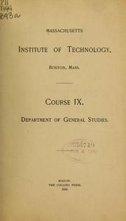 Cover of: Course IX