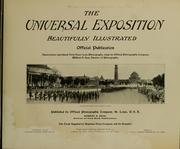 Cover of: The Universal Exposition beautifully illustrated