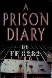 Cover of: A prison diary