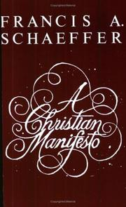 Cover of: A Christian Manifesto