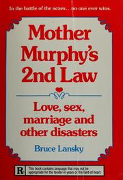 Cover of: Mother Murphy's 2nd law