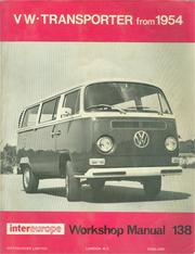 Workshop manual for Volkswagen Transporter all models