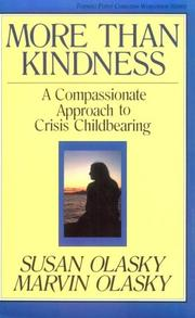 Cover of: More than kindness