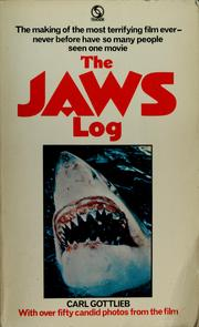 Cover of: The Jaws log