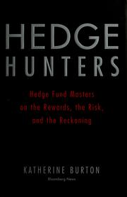 Cover of: Hedge hunters | Katherine Burton
