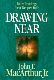 Cover of: Drawing Near: Daily Readings for a Deeper Faith