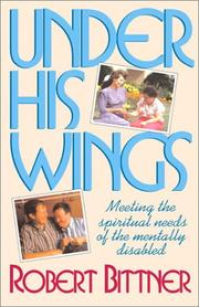 Cover of: Under His wings
