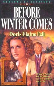 Cover of: Before winter comes