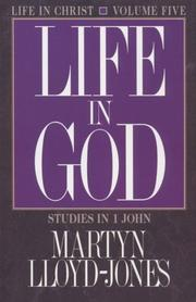 Cover of: Life in God