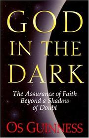 Cover of: God in the dark