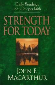 Cover of: Strength for Today: Daily Readings for a Deeper Faith