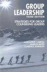 Cover of: Group leadership