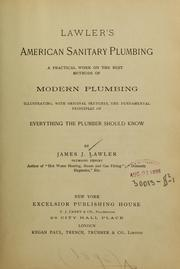 Cover of: Lawler's American sanitary plumbing