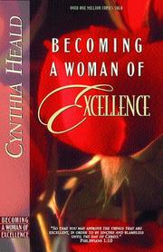 Cover of: Becoming a Woman of Excellence