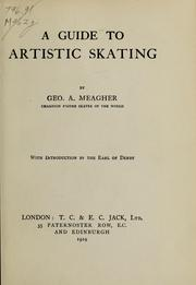 Cover of: A guide to artistic skating
