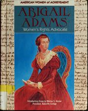 Cover of: Abigail Adams