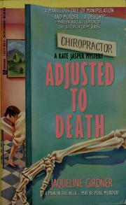 Cover of: Adjusted to death