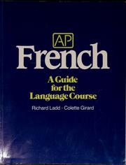 Cover of: AP French | Richard Ladd
