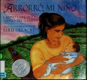 Cover of: Arrorró, mi niño