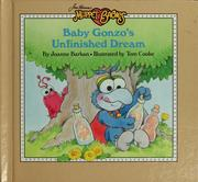 Cover of: Baby Gonzo's unfinished dream