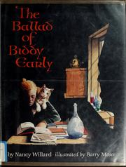 Cover of: The Ballad of Biddy Early | Nancy Willard