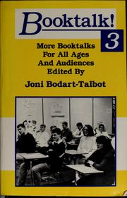 Cover of: Booktalk! 3