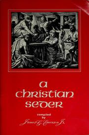 A Christian Seder by James G. Emerson