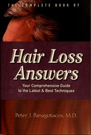 Cover of: The complete book of hair loss answers